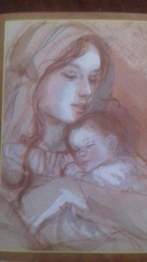 La mamma e la bambina.