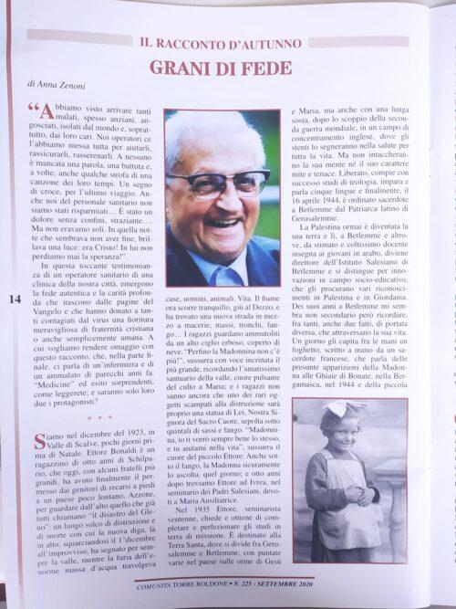 Vita di don di Ettore Bonaldi.  dall'Oriente a Milano – La malattia, la guarigione.