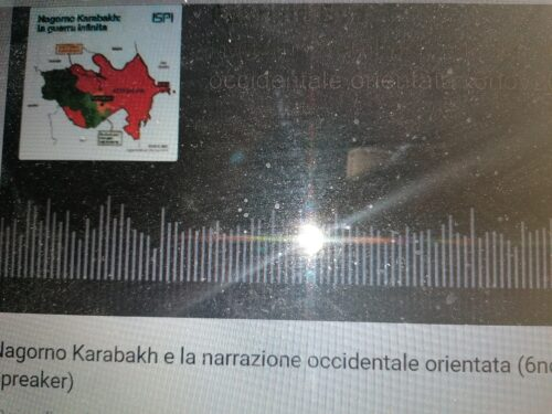 Uno sguardo (preoccupato) sul Nagorno-Karabach.